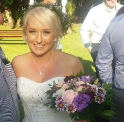 Beutiful Sunshine Coast Bride